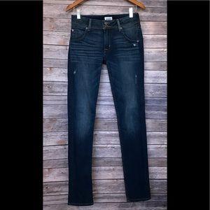 Hudson Collin Skinny distressed jeans